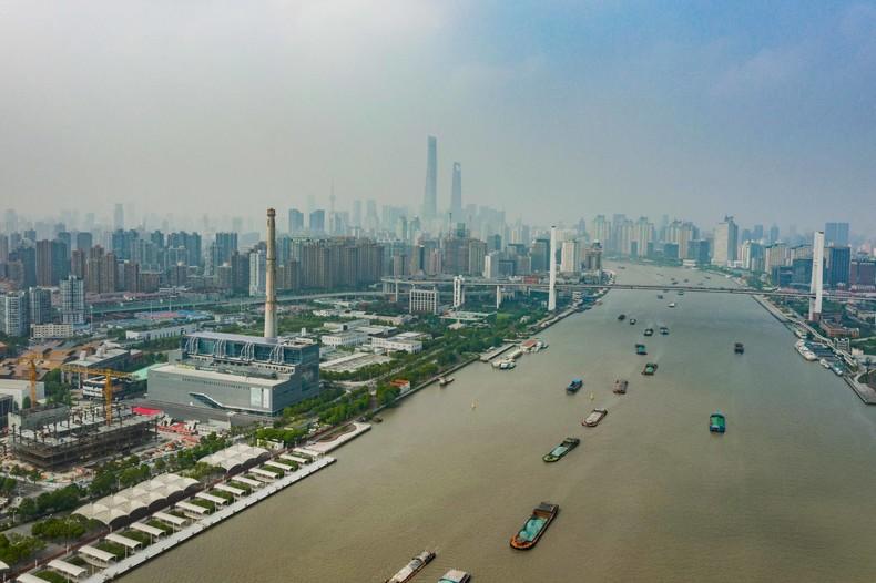 黄浦江畔的上海当代艺术博物馆。© PSA